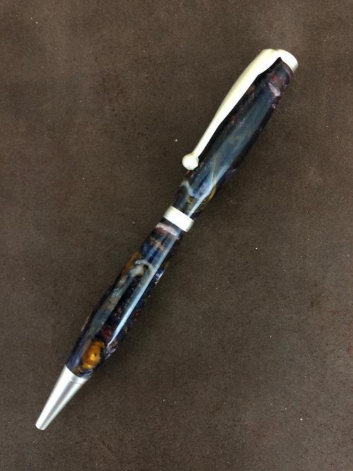 Hand Turned Acrylic Slimline Pen