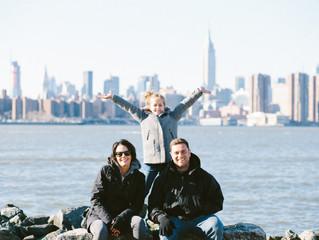 The Allen Family in New York