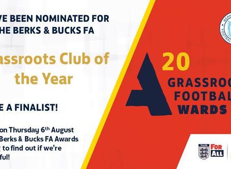 Grassroots Football Awards Nominations