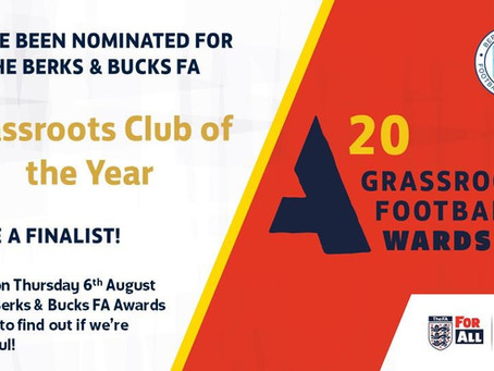 Grassroots Football Awards Nominations