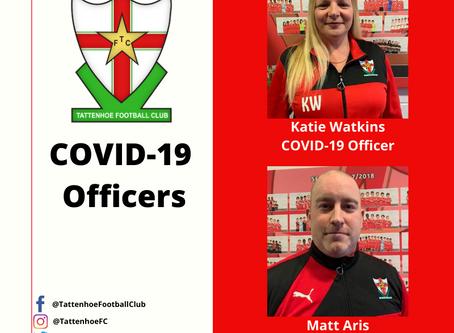 COVID-19 Club Officers
