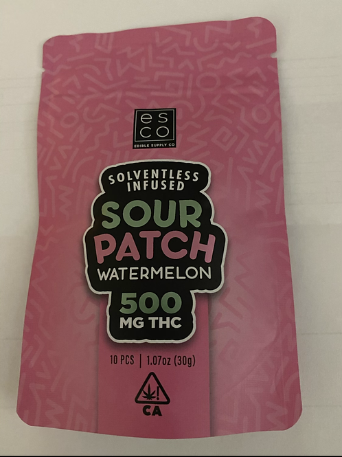 ESCO Sour Patch Watermelon 500mg THC
