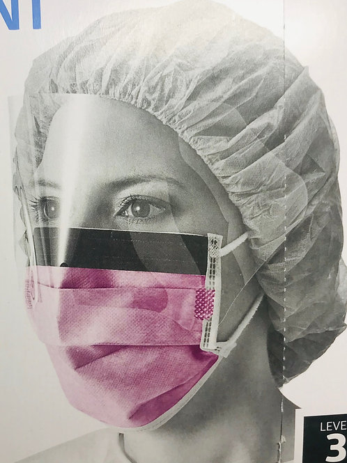 Surgical masks with face shield - for frontliners and healthworkers