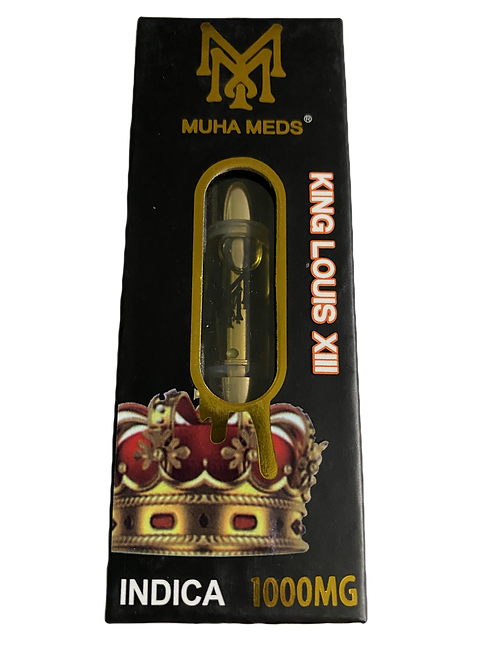 Muha Meds King Louis XIII Lab Tested 1000mg