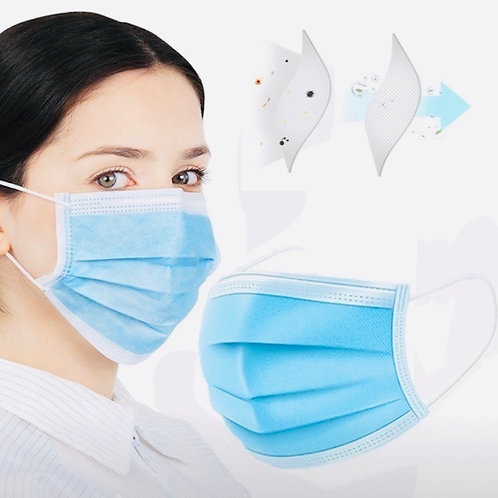 Disposable Surgical Mask 5pc pack