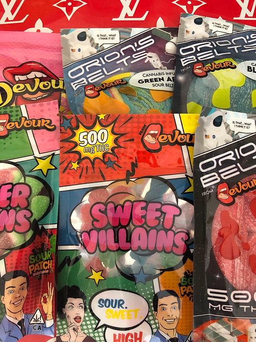Bulk Devour Assorted Candies 12pcs