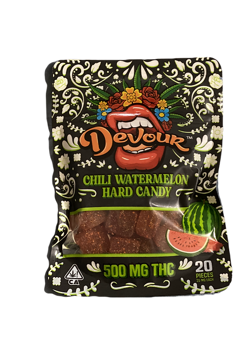 Devour Chili Watermelon 500mg THC