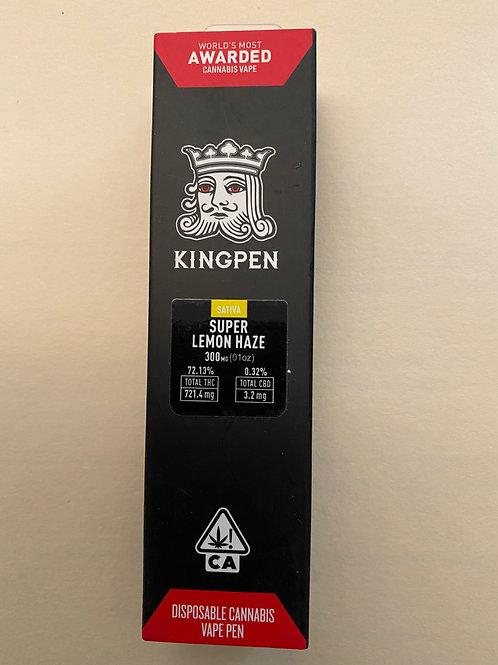 King Pen Disposable Vape Pen - SuperLemon Haze 300mg