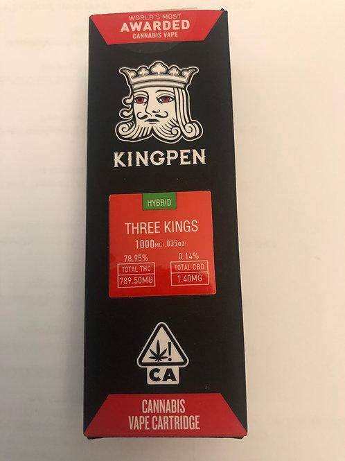 Three Kings Hybrid KingPen Cartridge 1000mg