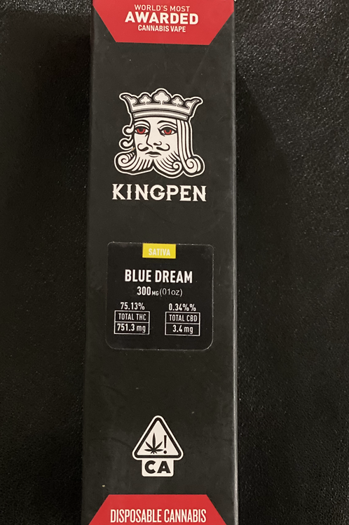 King Pen Disposable Vape Pen - Roman Grapefruit Hybrid 300mg