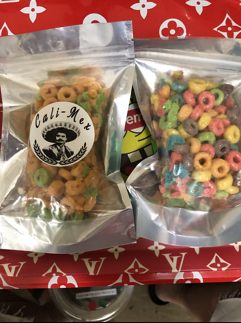 Fruity Cereal Bar made by Cali-Mex 500mg