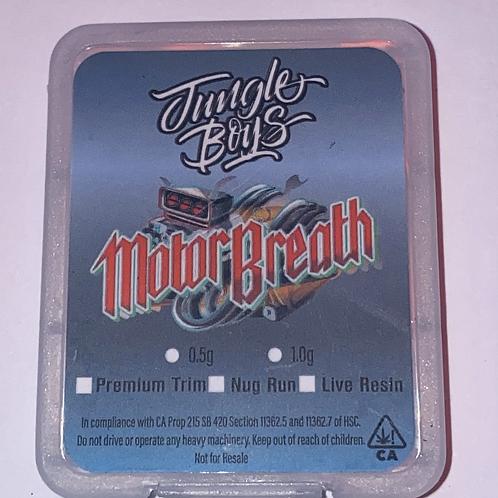 Jungle Boys Motor Breath Topshelf Nugrun 1gram