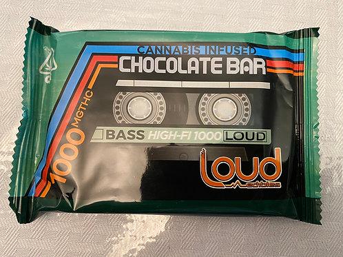 LOUD Chocolate Bar 1000mg THC