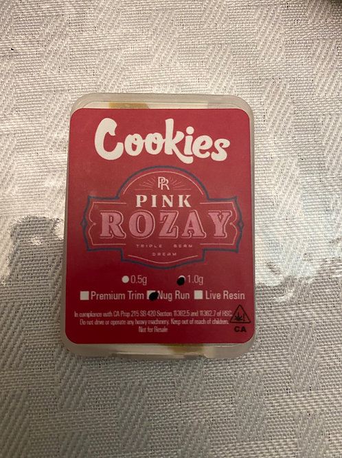 Cookies Pink Rozay 1gram Nugrun