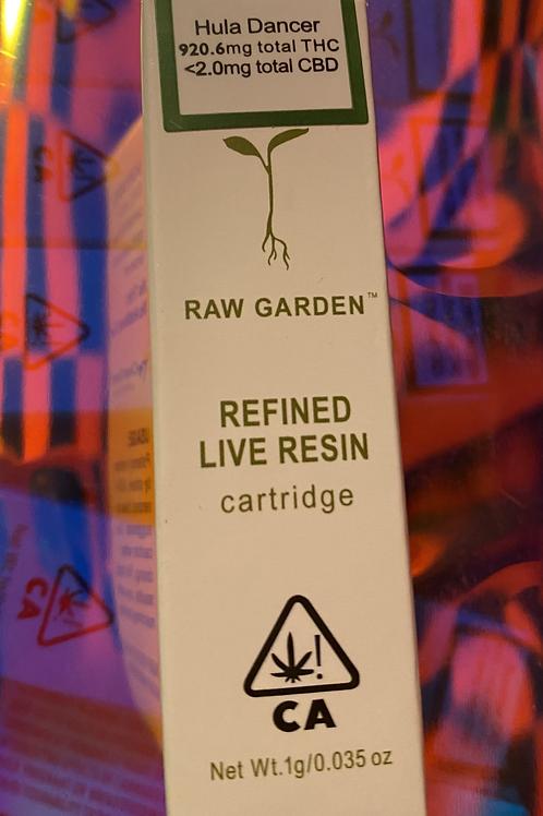 Raw Garden Live Resin Cartridge 1gm-Hulu Dancer