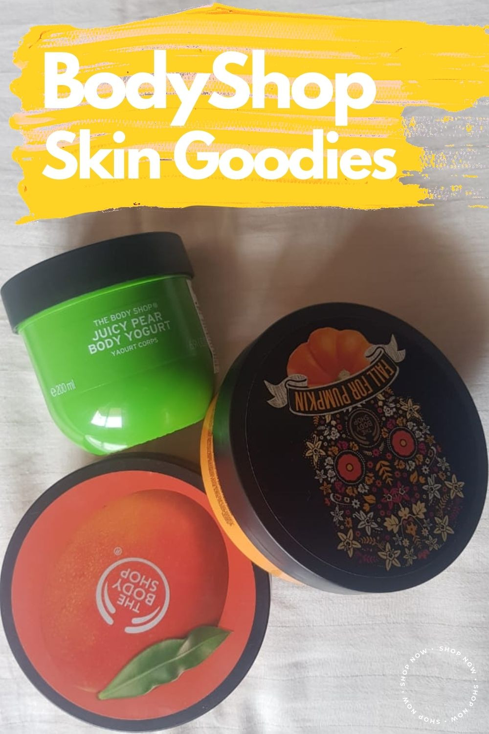Body Shop Creamy Goodness, 3 Seasonal Favorites