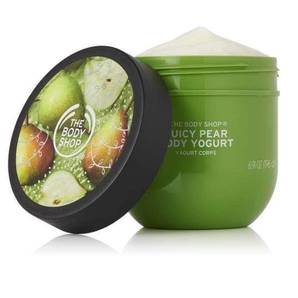 Body Shop Juicy Pear Body Yogurt