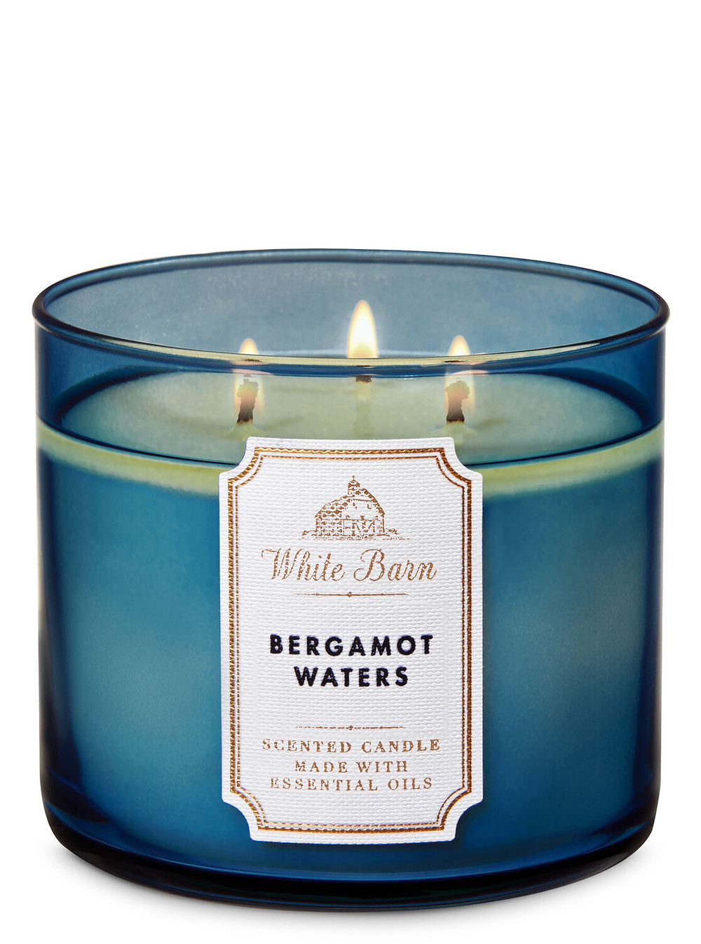 Bath & Body Works Bergamot Waters (3 Wick) Candle