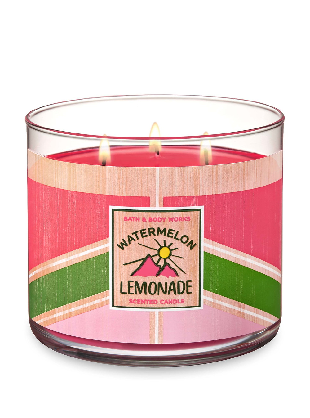 Bath & Body Works Watermelon Lemonade (3 Wick) Candle