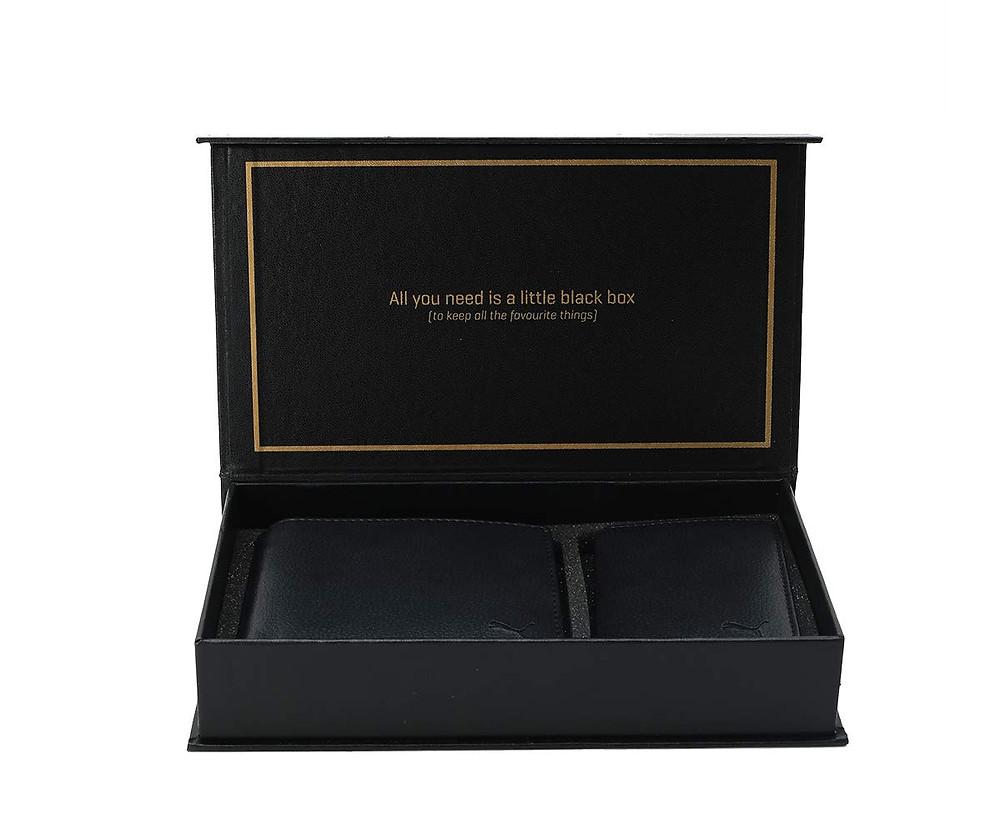 Puma Gift Box: Wallet & Card Holder