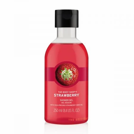 Body Shop Strawberry Shower Gel