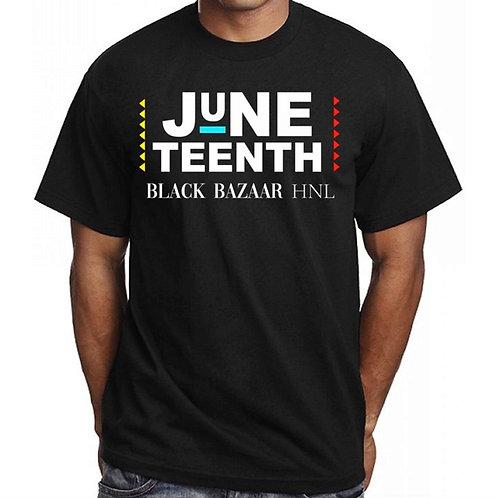 Juneteenth BLACK BAZAAR Unisex Shirt