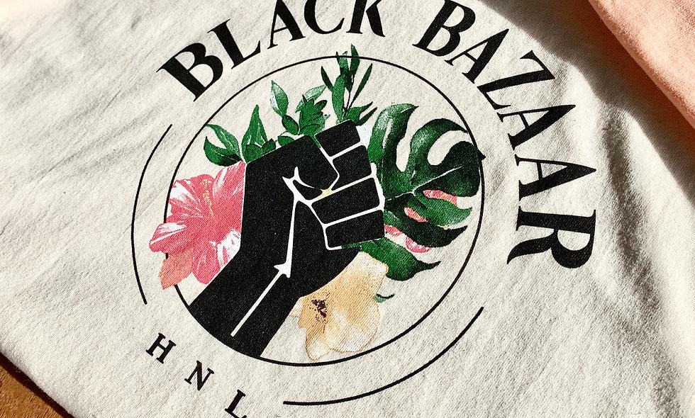 BLACK BAZAAR T-Shirt, Natural