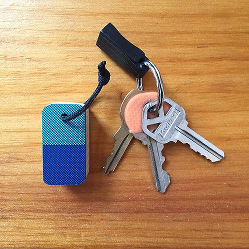 Ski Key Fob  – Square