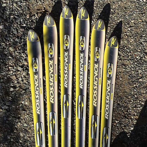 Made-to-Order Downhill Ski Chair – Black Yellow Rossignol