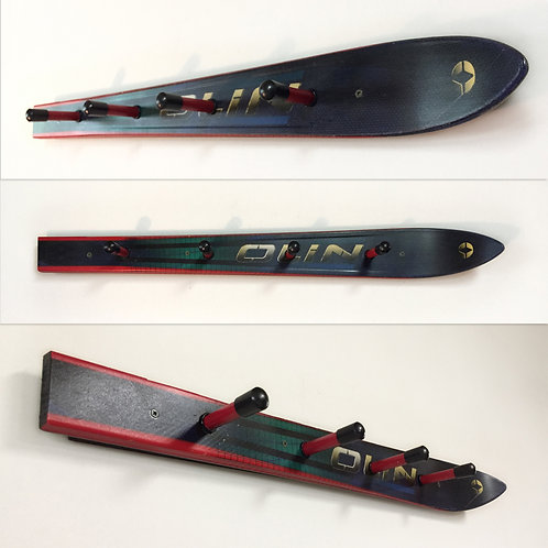 4-Hook Wall Mounted Ski Coat Rack – Olin