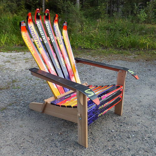 Custom Folding Ski Chair – Salomon Brights