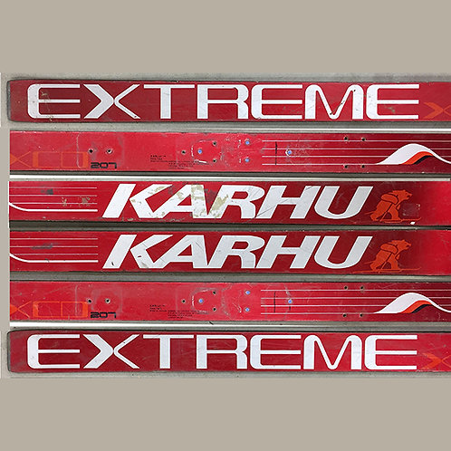 Made-to-Order Ski Table – Red Karhu Extreme