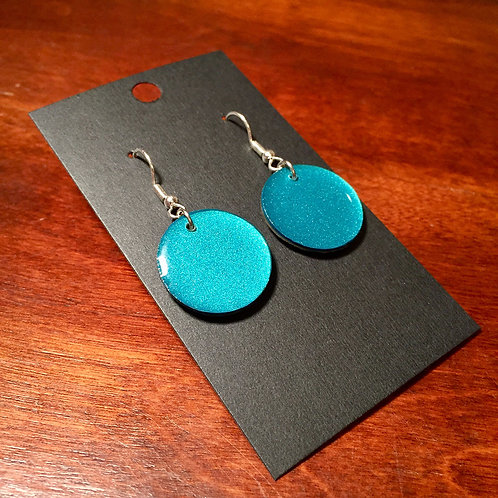 Downhill Ski Earrings – 4S Circles