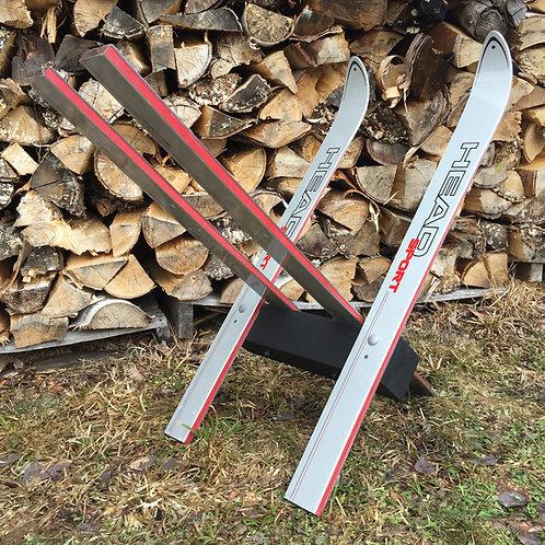 Ski Firewood Rack