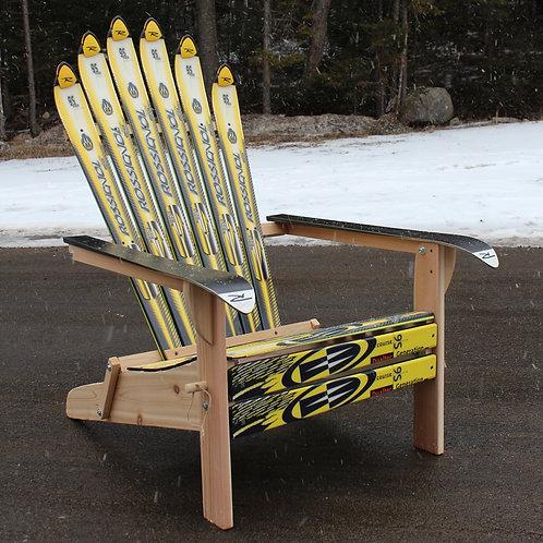 Custom Folding Ski Chair – Rossi Yellow