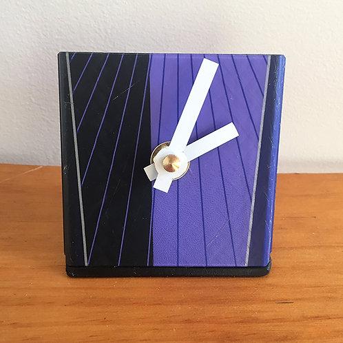 Ski Clock – Purple Black K2