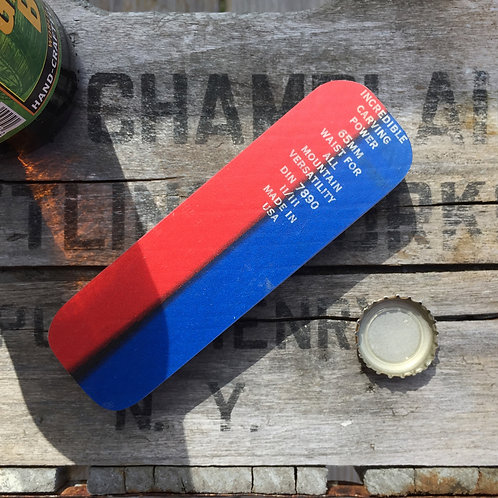 Hand Held Ski Bottle Opener – Red/Blue