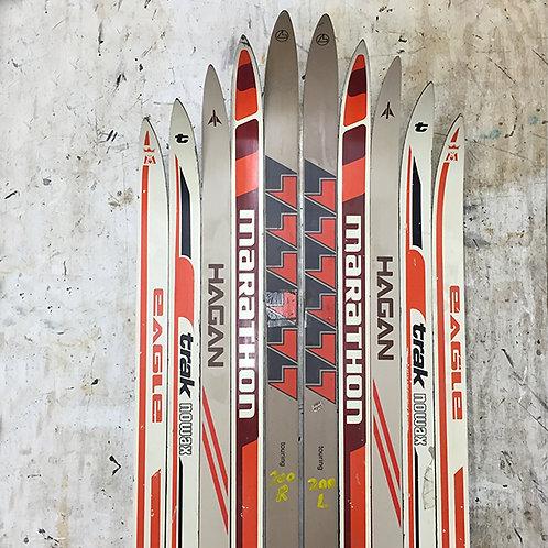 Made-to-Order Nordic Ski Chair – Subtle Orange