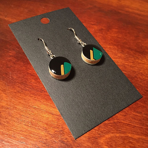 Nordic Ski Earrings – Mini Mtns