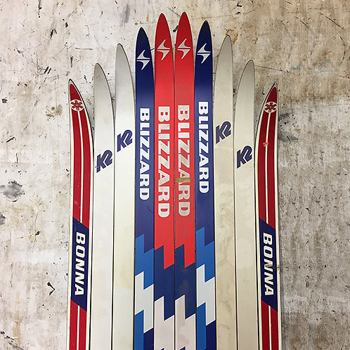 Made-to-Order Nordic Ski Chair – Blizzard Brights