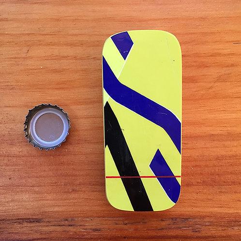 Hand Held Brewski™ Ski Bottle Opener – Yellow Rossi