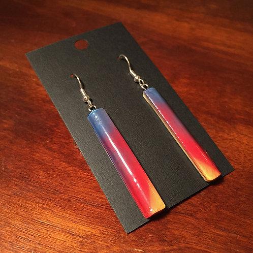 Downhill Ski Earrings – Bonfire