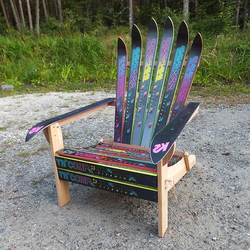 Folding Ski Chair – K2 Brights