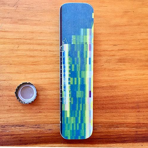 Hand Held Brewski™ Ski Bottle Opener – Blue Green