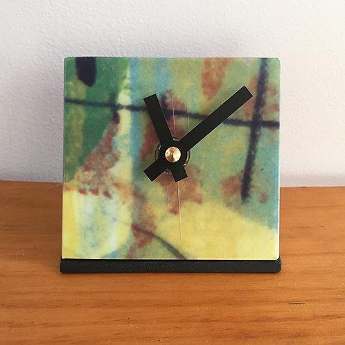 Ski Clock – Earthtones Armada