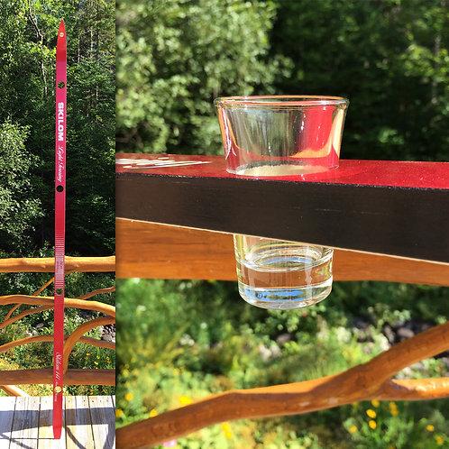 4-Glass Shot Ski – Skilom Red