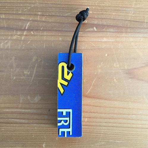 Ski Key Fob – K2 Blue Rectangle