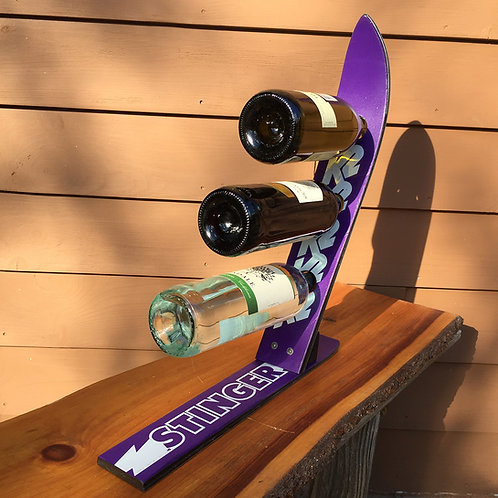 3-Bottle Ski Wine Rack – K2 Stinger