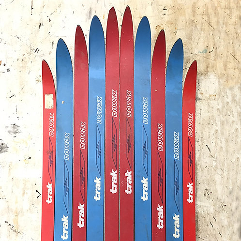 Made-to-Order Nordic Ski Chair – Red Blue Trak