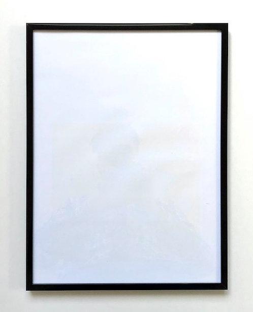 Black glossy/brushed aluminium frame